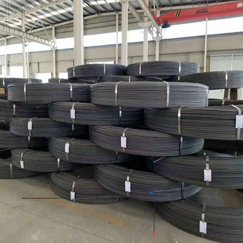 ISO9001 High Strength 4.0mm 5.0mm 7.0mm PC Steel Wire
