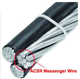 Bright Surface Galvanised Steel Wire Rope / ACSR Messenger Wire For ABC Cable